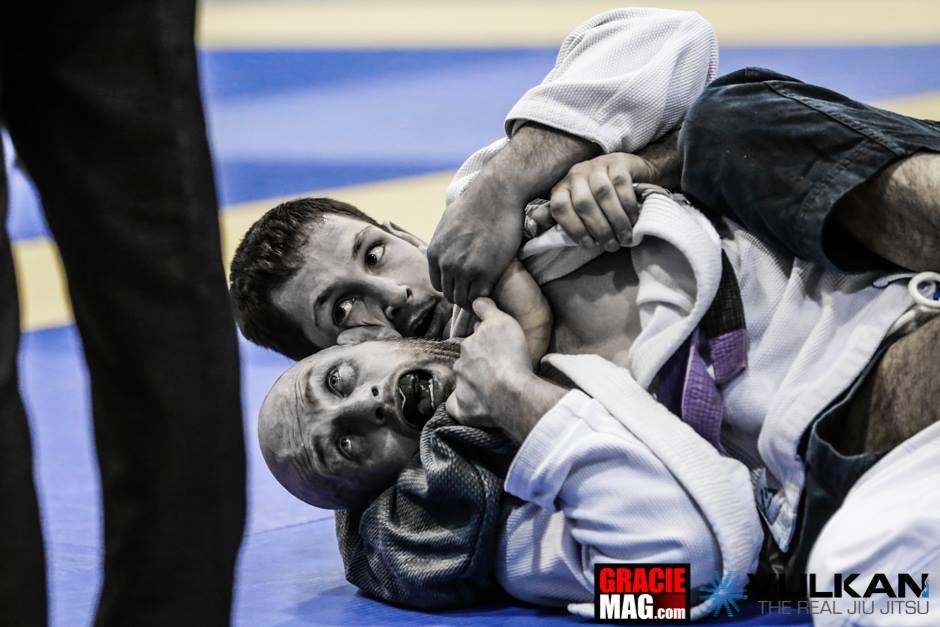 Purple belts at the European Open. Photo: Ivan Trindade