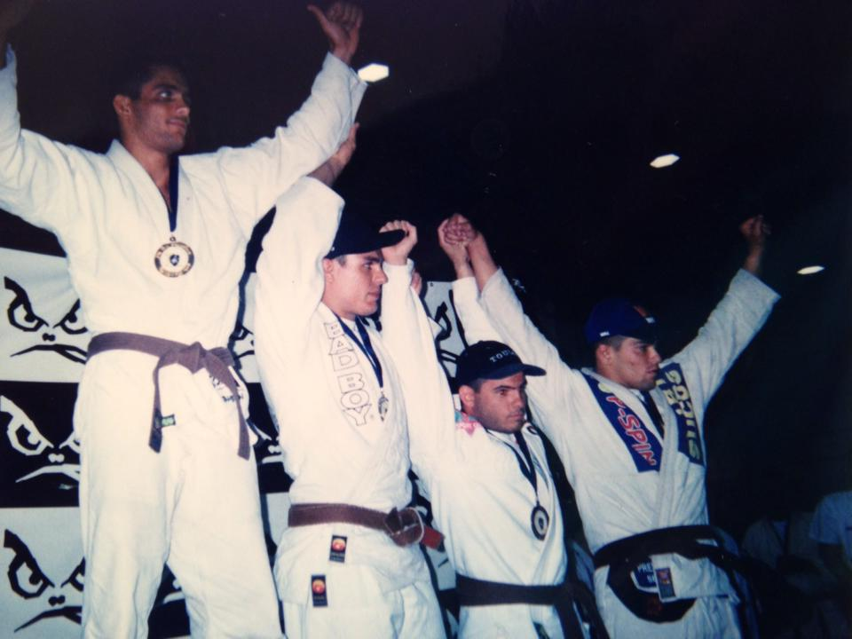 Cassio Werneck on top of the podium in 1997