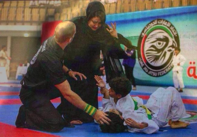 The day a mother entered the Jiu-Jitsu mats to rescue her son