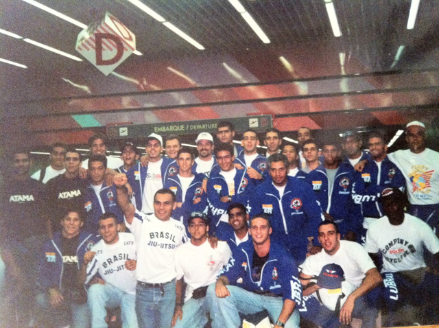 Team Brazil ready to embark to the 1995 Pan