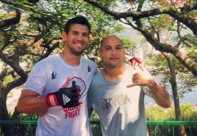Léo Santos comenta treinos com BJ Penn e Popó para o UFC em Natal