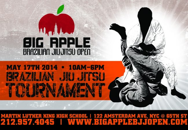 Register with a discount for the 4th Big Apple BJJ Open in New York City on May 17