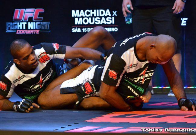 Veja Lyoto, Jacaré e mais dos treinos abertos do UFC em Jaraguá