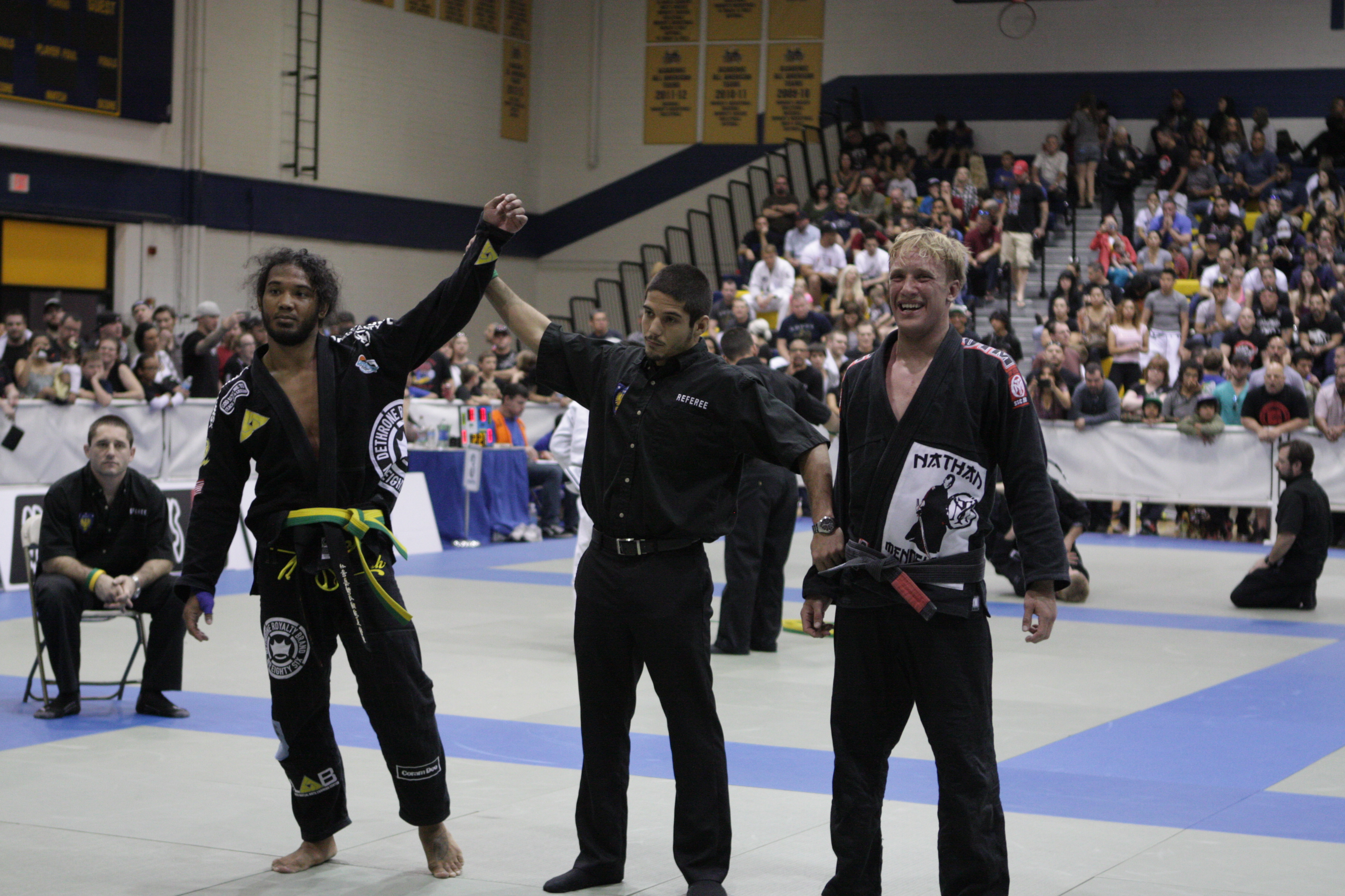 Ben Henderson wins gold. Photo: Personal Archive