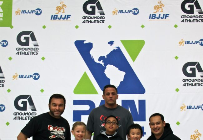See the kids of GMA Cascao Jiu-Jitsu in action at the 2014 IBJJF Pan Kids on Feb. 16