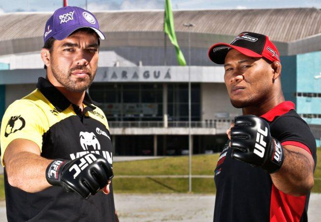 Aqueça para o evento de hoje com nocautes de Lyoto e Jacaré no UFC