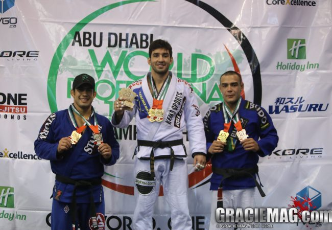 Lepri, Obelenyte & other brown/black belt ticket winners at Abu Dhabi WPJJC Montreal trial