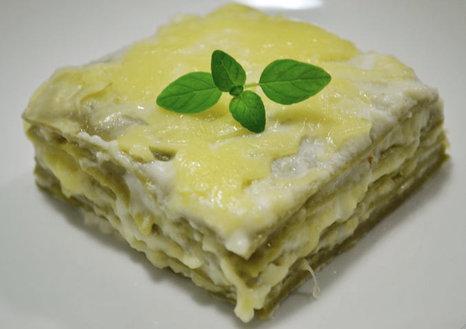 Prepare a delicious lasagna without cheating on your diet.