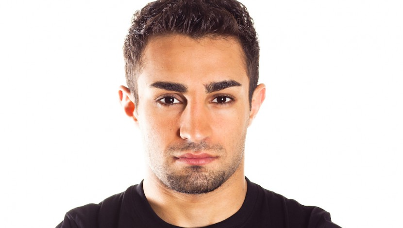 Bom de chão: Alan Omer faz sua estreia no UFC em Abu Dhabi, em abril.