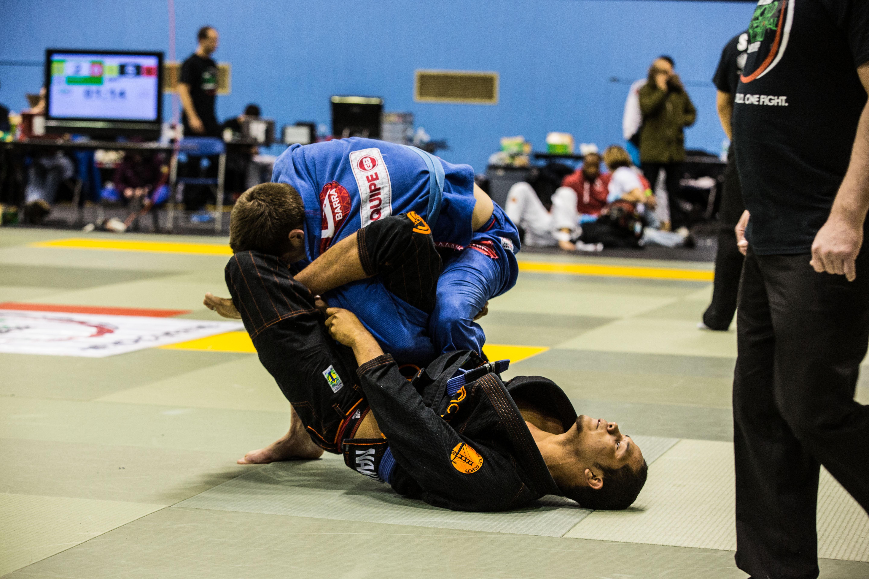 Angelo Guerrero-Barden of Atos Jiu-Jitsu in the light absolute. Photo: AFROBAZ