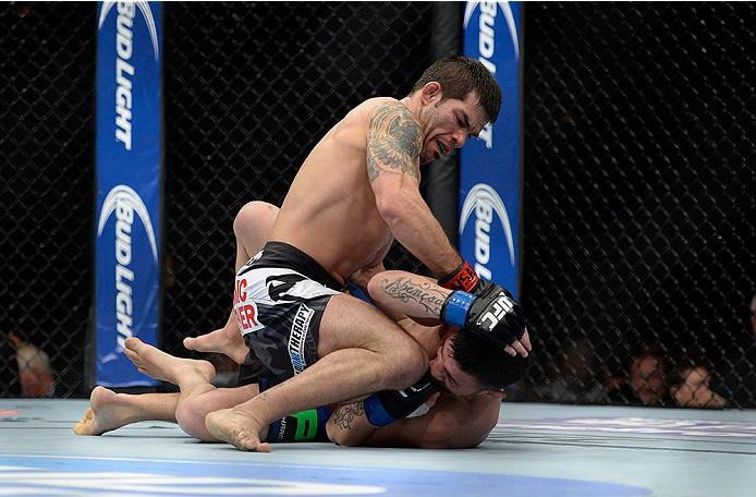 Raphael não perde uma luta no UFC desde 2011. Foto: UFC/Divulgação