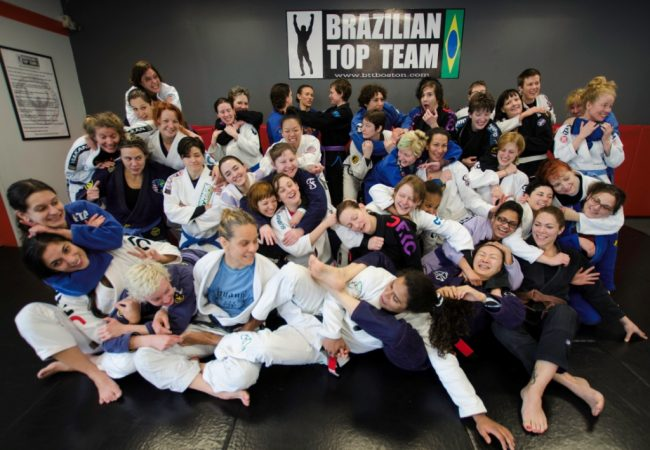 Females travel to train, learn & bond at GMA BTT Boston for women's grappling camp