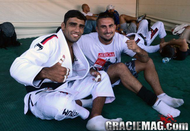 Encontro de gerações no Jiu-Jitsu: o treininho dos campeões Leandro Lo e Daniel Moraes