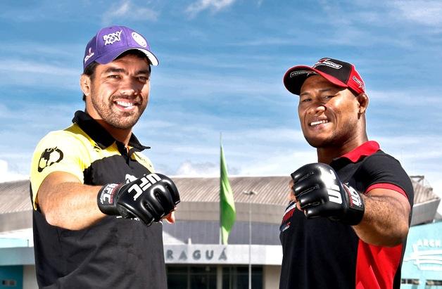Lyoto Machida e Ronaldo Jacaré vencem no UFC em Jaraguá