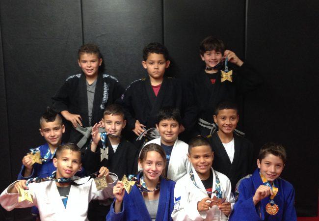 GMA Alliance Miami WMB takes home six medals at the 2014 IBJJF Pan Kids