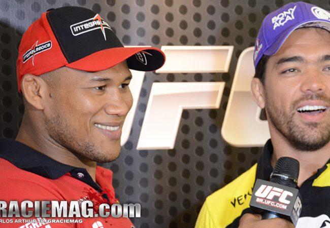 UFC: Ronaldo Jacaré ataca de repórter e entrevista Machida e Mousasi