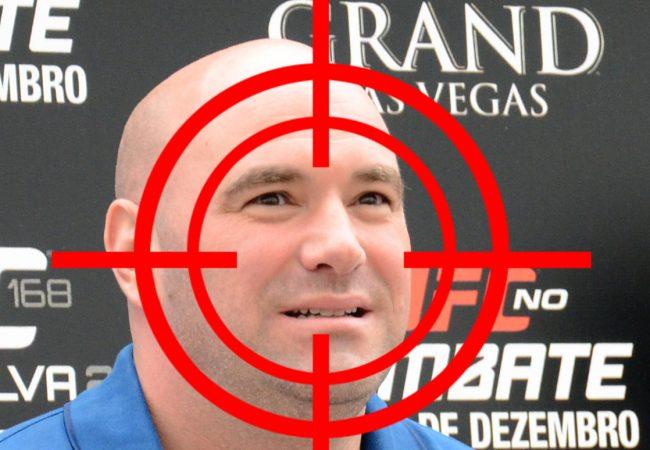 Dana White admite: já foi ameaçado por lutadores por conta de contratos