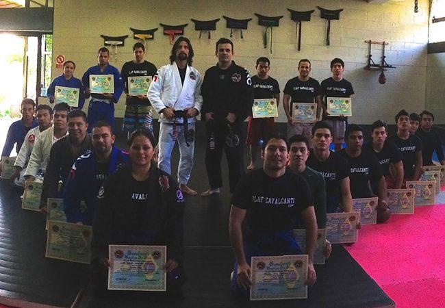 Master Ricardo Cavalcanti pays tribute to Grandmaster Carlson Gracie Sr. in Guatemala