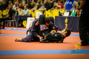 Horlando Monteiro won double gold. Photo: IBJJF