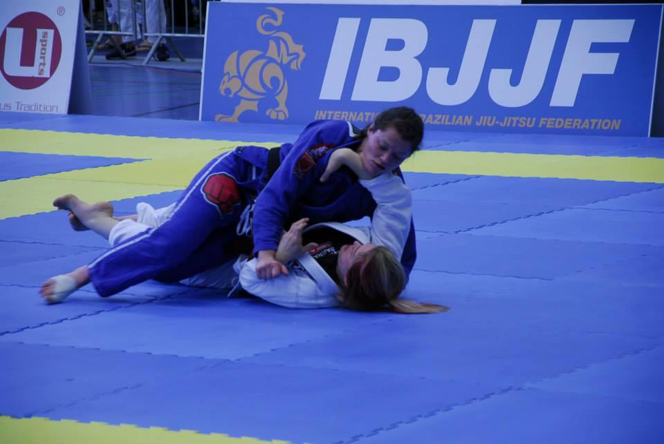 Ida Hansson in action in Munich
