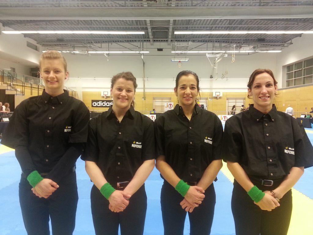 The Munich Open had an unprecedented female refereeing quartet