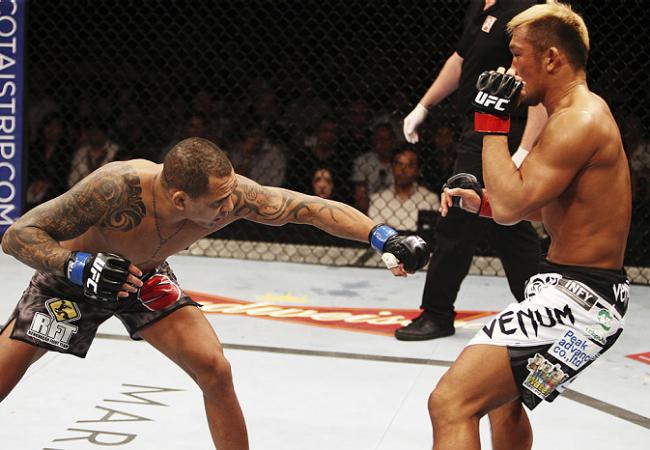 Após desqualificação, Besouro busca a divisão de leves do UFC