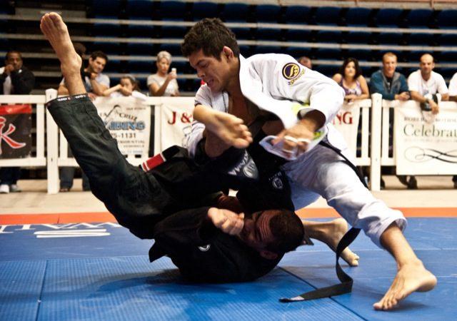 Carlos Diego durante o US Open de Jiu-Jitsu. Foto: Dan Rod
