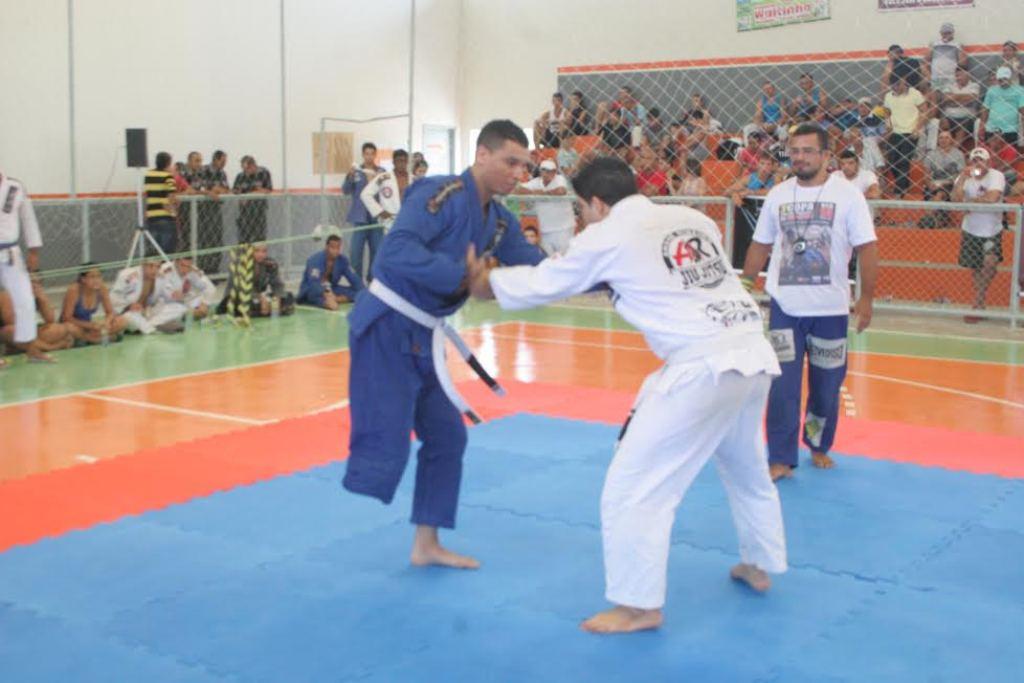 Diego Carlos em campeonato de BJJ no Ceara Foto Jr Samurai