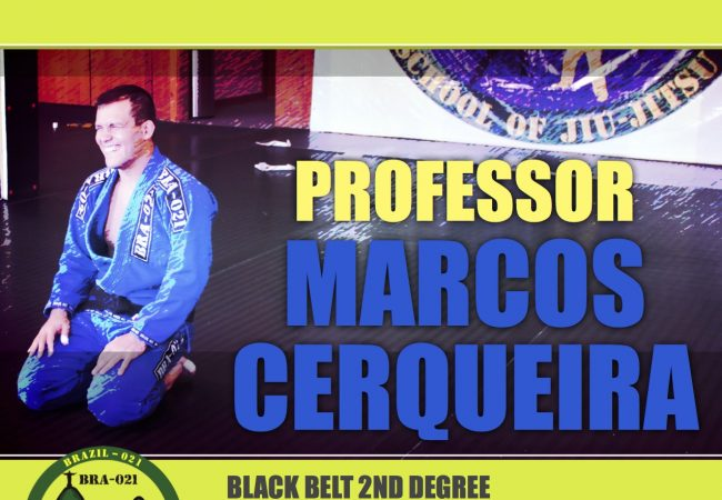 Learn from 2nd degree black belt Marcos Cerqueira at Brazil 021 in Chicago on March 28