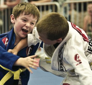 A luta de Jiu-Jitsu mais leve e movimentada de 2014