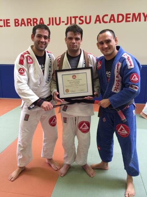 Mauricio Grudsky is the first Chilean black belt under Gracie Barra. Photo: Personal Archive