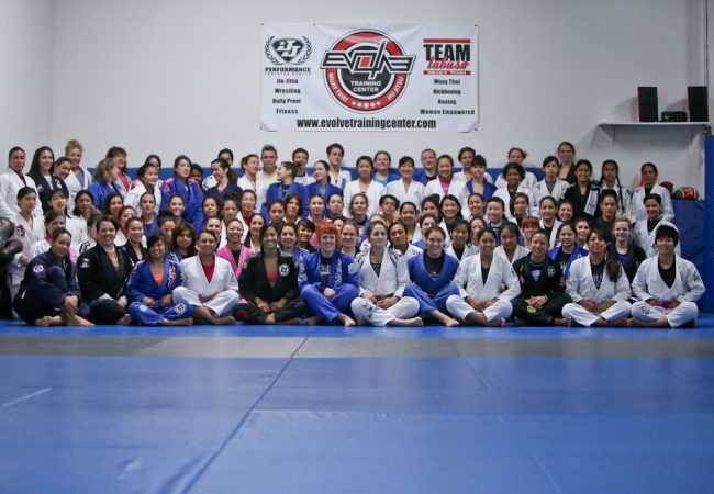 Bay area acts as hub for 120 females at 2nd Inspire All-Female Open Mat