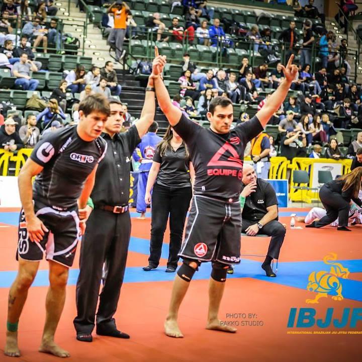 Khaliffa, campeão absoluto sem kimono. Foto: IBJJF
