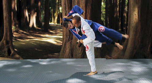 Video: Upgrade your stand up game with the Ouchi Gari Leg Pick