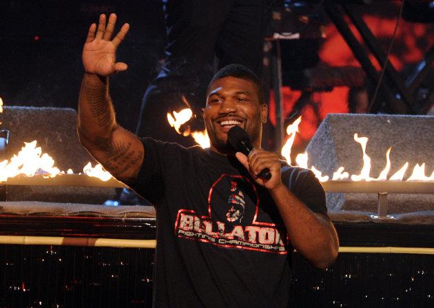 Quinton Rampage Jackson venceu sua segunda luta no Bellator. Foto: Divulgação