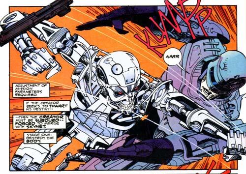 Robocop x Exterminador no UFC