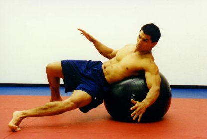 Video: Warm up for BJJ using the Stability Ball