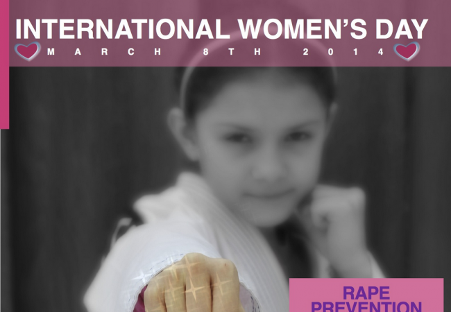 RABJJ Celebrates March 8th with a Special Rape Prevention Class
