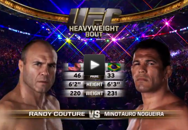 Throwback Tuesday? Watch Minotauro vs. Couture on UFC 102