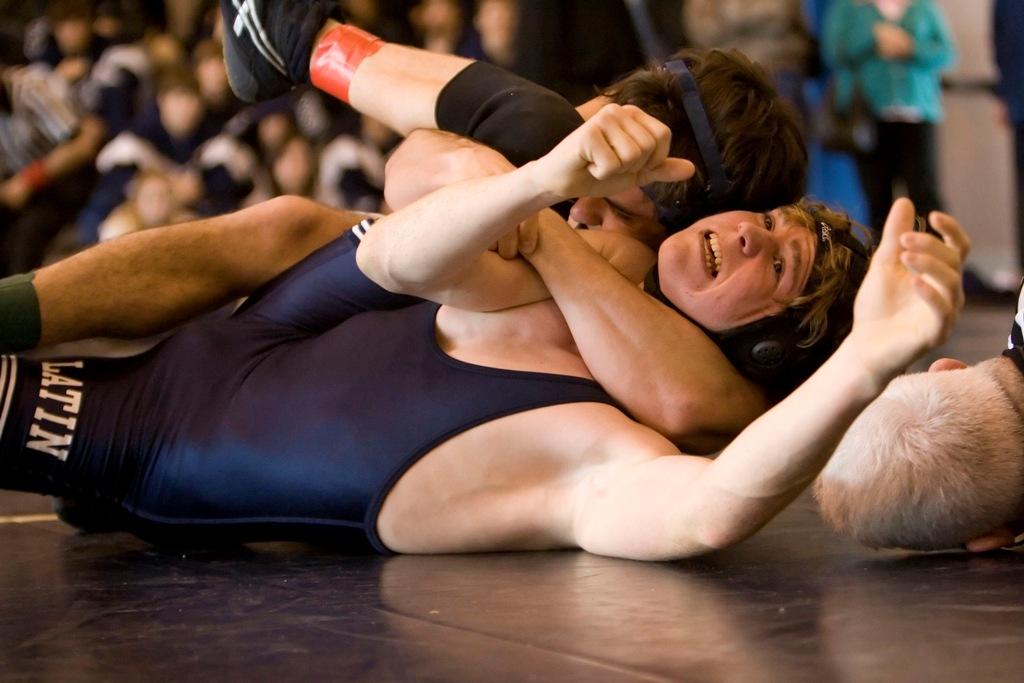 Wrestling Foto Dreier Carr