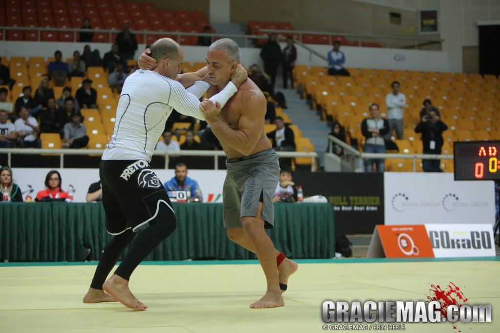 No ADCC Pequim, em 2013, Zé Mario venceu Fabio Gurgel. Foto: Erin Herle
