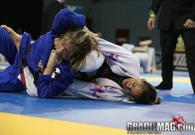 """Beatriz Mesquita vibra com ouro absoluto no Pan de Jiu-Jitsu: """"Eu nem ia lutar"""""""