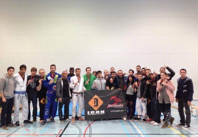 Icon Jiu-Jitsu wins Neuchatel Cup in Switzerland