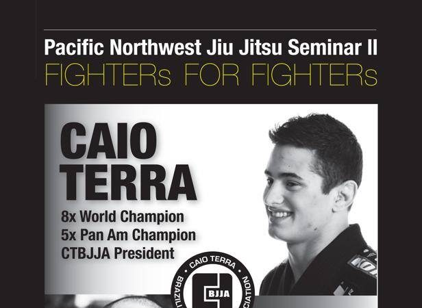 Charity: Train with champions Caio Terra & Yuri Simoes for 4 days in late April