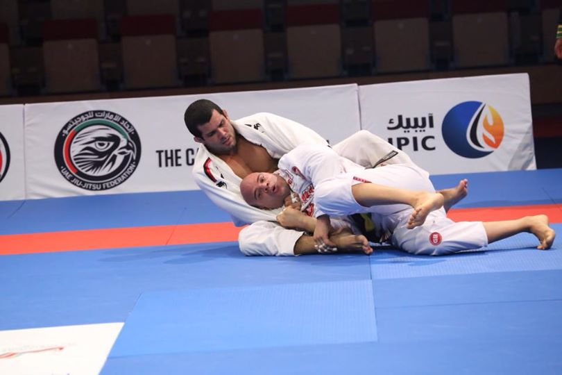 Rodolfo Vieira vence em Abu Dhabi e está na final do WPJJC 2014. Foto: Ivan Trindade