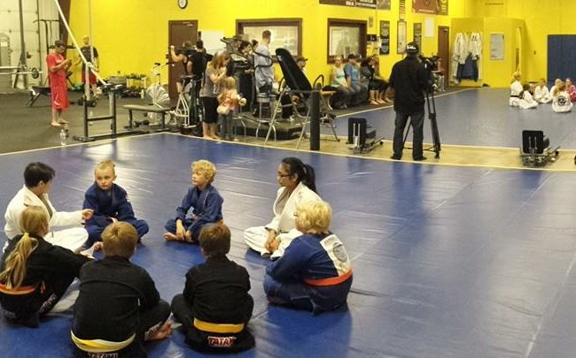 Video: See how kids are learning to stand up for themselves at GMA Fargo BJJ