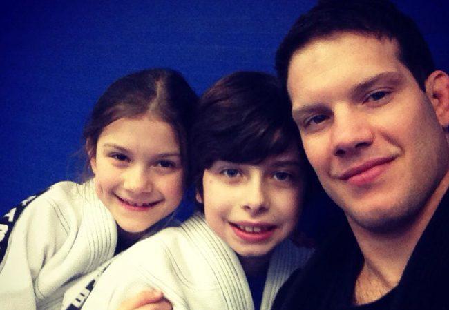 On Autism awareness month, Ricardo Almeida tells how Jiu-jitsu is helping his son Renzo