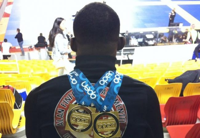 Video: Alan Finfou's final match for double gold at the IBJJF Rome Open