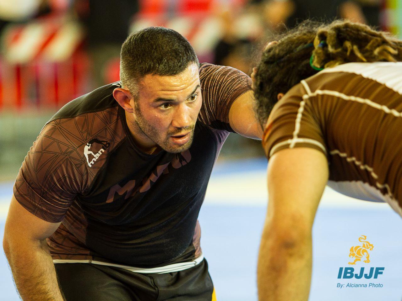 Bruno at the 2014 European No-Gi Championship. Photo: Alcianna Photo