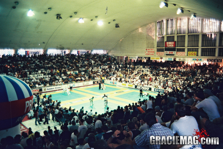 A lot of folks called me crazy for creating the Jiu-Jitsu World Championship, in 1996. They'd say the sport was still just crawling and need to grow a lot before there could be such a competition, but I knew the Worlds was going to lead Jiu-Jitsu to growth – Carlos Gracie Jr, CBJJ / IBJJF president. Photo by Luca Atalla